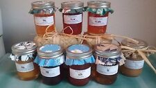 HOMEMADE IN HAWAII ~ Wild Tropical Fruits & Berries JELLY JAMS & BUTTERS ~ 8 oz