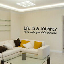 Life Is A Journey Motivational Quote Inspirational Wall Quote Sticker QU8