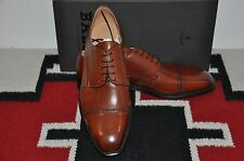Bally Scribe Farban Whisky Calf Hand Made in Switzerland Dress Shoes