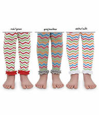 NEW Jefferies Chevron Ruffle Footless Tights  6-18M, 18-24M, 2-4Y, 4-6Y