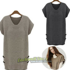 Europe And America Winter Women's Clothing Plus Size Casual Sweater Dress