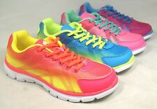 Air 486 Women's Bright Neon Colorful Light Weight Running Athletic Tennis Shoes