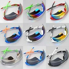 Cool Unisex Double Color Bicycle Bike Hiking Sport Glasses Windproof Sunglasses