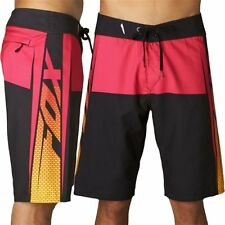 ~~~NEW~~~ MENS FOX trench BOARDSHORTS BOARD SHORTS PINK & BLACK