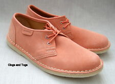 NEW CLARKS ORIGINALS JINK DUSTY PINK SUEDE SHOES