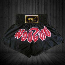 Boxing MMA Satin Competition Training challenge Pants Muay Thai Shorts Trunks