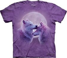 Loving Wolves Kids T-Shirt from The Mountain. Boy Girl Child Sizes NEW