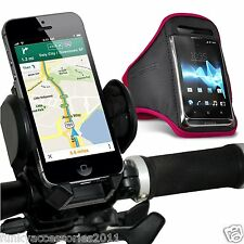 Bicycle Accessory Pack Bike Holder Cradle Gym Sports Armband Case Pouch Cover