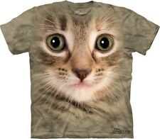 Kitten Face Kids T-Shirt from The Mountain. Cats Boy Girl Child Sizes NEW