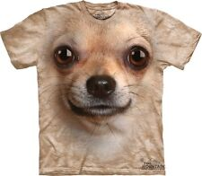 Chihuahua Face Kids T-Shirt The Mountain. Big Face Dogs Boy Girl Child Sizes NEW