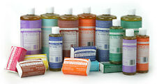 DR BRONNERS CASTILE LIQUID SOAP Organic Fair Trade ALL FLAVOURS