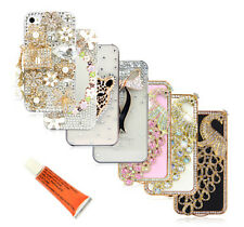 Phone Case Cover Skin for Appl iPhone 4 4S Bling Crystal Rhinestone 3D Hard Back