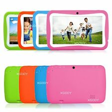 "8GB 7"" Google Android 4.4 Education Children Kids Mid Tablet HD Quad Core&Camera"