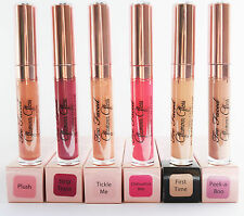 NEW IN BOX TOO FACED GLAMOUR GLOSS VOLUMIZING  YOU CHOOSE COLOR LIP GLOSS