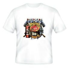 Fire Ems Police T-shirt American Heroes Firefighters Fireman Firemen Department