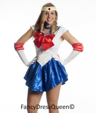 Serena Cosplay Sailor Moon Costume Fancy Dress S/M/L/XL/XXL UK 8/10/12/14/16