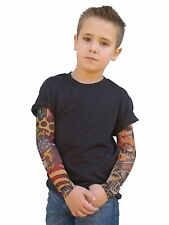 Wild Rose Boys Black T Shirt Tattoo Long Sleeve Tee Gothic Punk Biker Costume