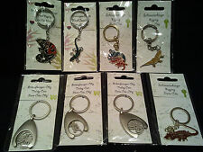 Reptile Key Ring/Mood Jewellery/Trolley Coins/Chameleon/Bearded Dragon/Tarantula