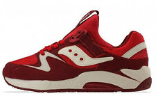 SAUCONY GRID 9000 RED WHITE  SZ 8 - 13   * 70077-17  *