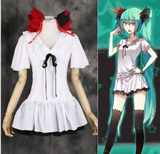 M-136 S/M/L/XL Vocaloid Miku world is mine Cosplay Kleid Kostüm Set costume