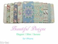 VINTAGE SHABBY CHIC PRETTY FLORAL ROSE AZTEC PHONE CASE COVER FOR IPHONE 5S 5C
