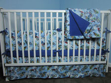 Motocross Dirt Bike Boys Nursery Baby Boys Crib/Toddler Bedding: 4-PIECE SET