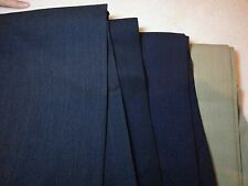 Mens Dress Pants Slacks Pleated UNHEMMED Pronto-Um Lt Wt Wool NWT 36 38 40 42 44