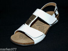 Dr. Andrew WEIL with Orthaheel Technology Sonora White Patent Leather Sandal