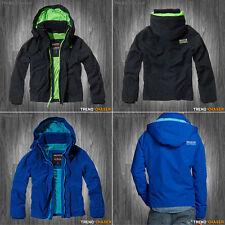 Hollister by Abercrombie - Mens All Weather Jacket Mesh Lined - S M L XL NEW!
