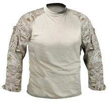 Mens Shirt - Military Combat Style, Desert Digital Camo by Rothco