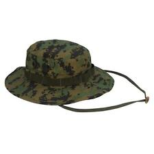 Mens Military Hat - Boonie Hat, Woodland Digital Camo by Rothco