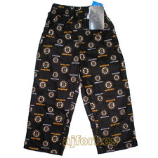 Boston Bruins BOYS GIRLS YOUTH Sizes Flannel Pajama Lounge Pants