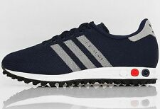 ADIDAS L.A. TRAINER WEAVE Dark Blue-White running training sneakers new