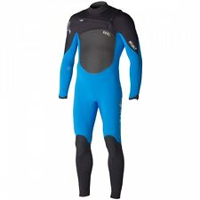 Xcel Mens Revolt 5/4mm XZip2 2015 Surfing Wetsuit in Blue With Celliant Lining