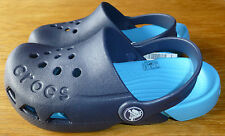 ♥ BNWT CROCS BOYS ELECTRO NAVY/ELECTRIC BLUE CLOGS CHILD SIZES 7 8 9 10 11 12 ♥