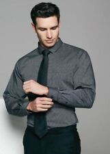 Aussie Pacific Mens Henley Striped Long Sleeve Shirt 1900L | Business, Formal