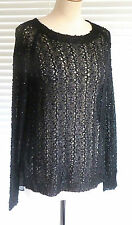 Fabulous ladies reversible sequin knit with stunning cross over back  RRP £59