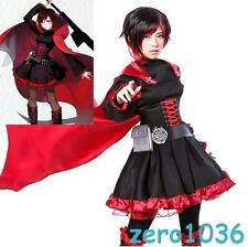 Anime Rwby Newest Red Trailer Buby Little Red Ridinghood Cosplay Costume