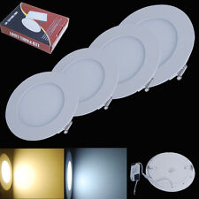 3/6/9/12/16/18W LED Recessed Ceiling Panel Down Spot Light Flat Round Square Hot