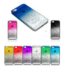 colorato Ultra Sottile Waterdrop Raindrop Case Cover per Iphone 5 5s