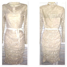 New ex PHASE EIGHT Exquisite Oyster Lace JEMMA COCKTAIL DRESS Sz 8 - 18 RP £130