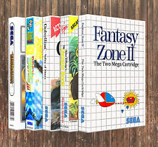 A - L: SEGA Master System Case *YOU PICK TITLE!* New Custom Box ONLY *NO GAME*