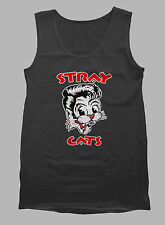 SR1-Stray Cats Rockabilly tank top (longsleve & hoodie available)