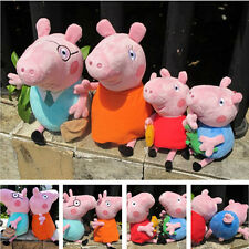Fashion Peppa Pig Family Peppa George Mummy Daddy Plush Doll Soft Stuffed Toy