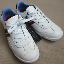 """TOMMY HILFIGER (White) """"NORCO"""" Leather Sneakers - Brand New $64.50"""