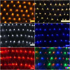 100 LED 1.5x1.5M 220V Net Light Lamp Christmas Party Wedding Garden Decoration