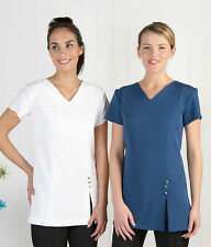 V Neck Beauty Salonwear Tunic, Dentist, Therapist, Care-worker, Cleaner Uniform