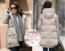 2014 new fashion winter Thickening Hooded warm thin coat jacket pregnant women