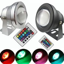 Faretto subacqueo LED Multicolore Underwater Flood l10W 12V telecomando incluso