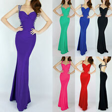 CHEAP Long Mermaid Pageant Evening Formal Party Ball Gown Prom Bridesmaid Dress